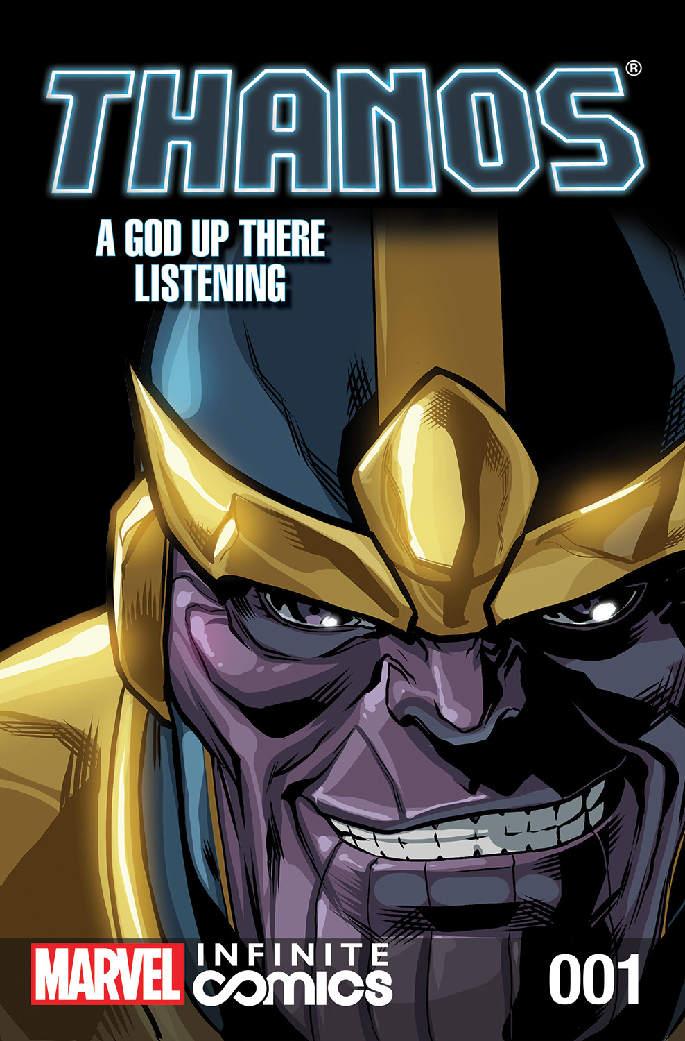 Thanos: A God Up There Listening Infinite Comic (2014) #1