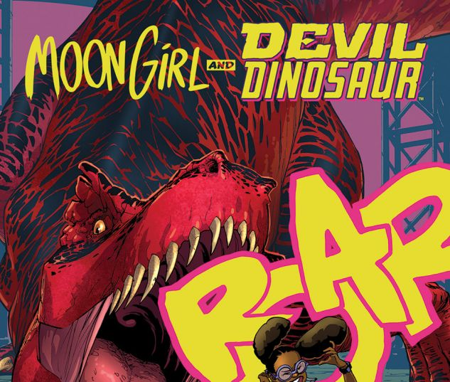 cover from Moon Girl and Devil Dinosaur (2015) #3