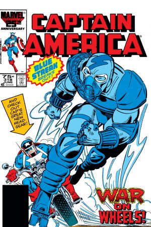 Captain America #318