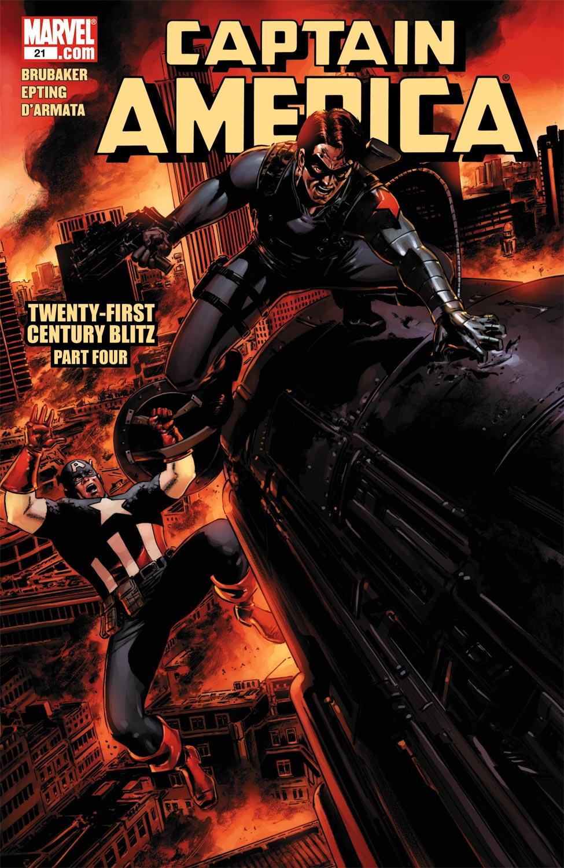 Captain America (2004) #21
