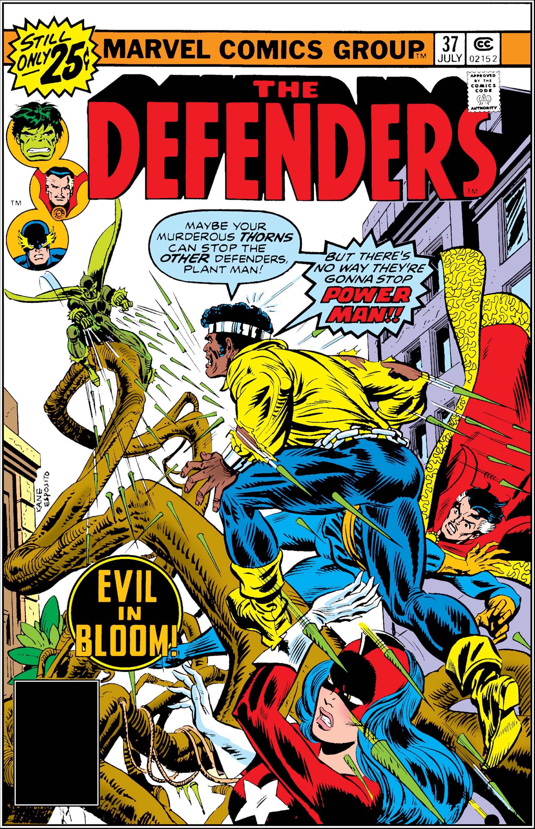 Defenders (1972) #37