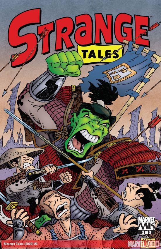 Strange Tales (2009) #3
