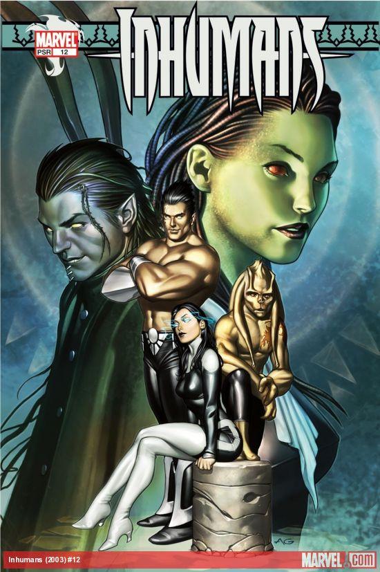 Inhumans (2003) #12