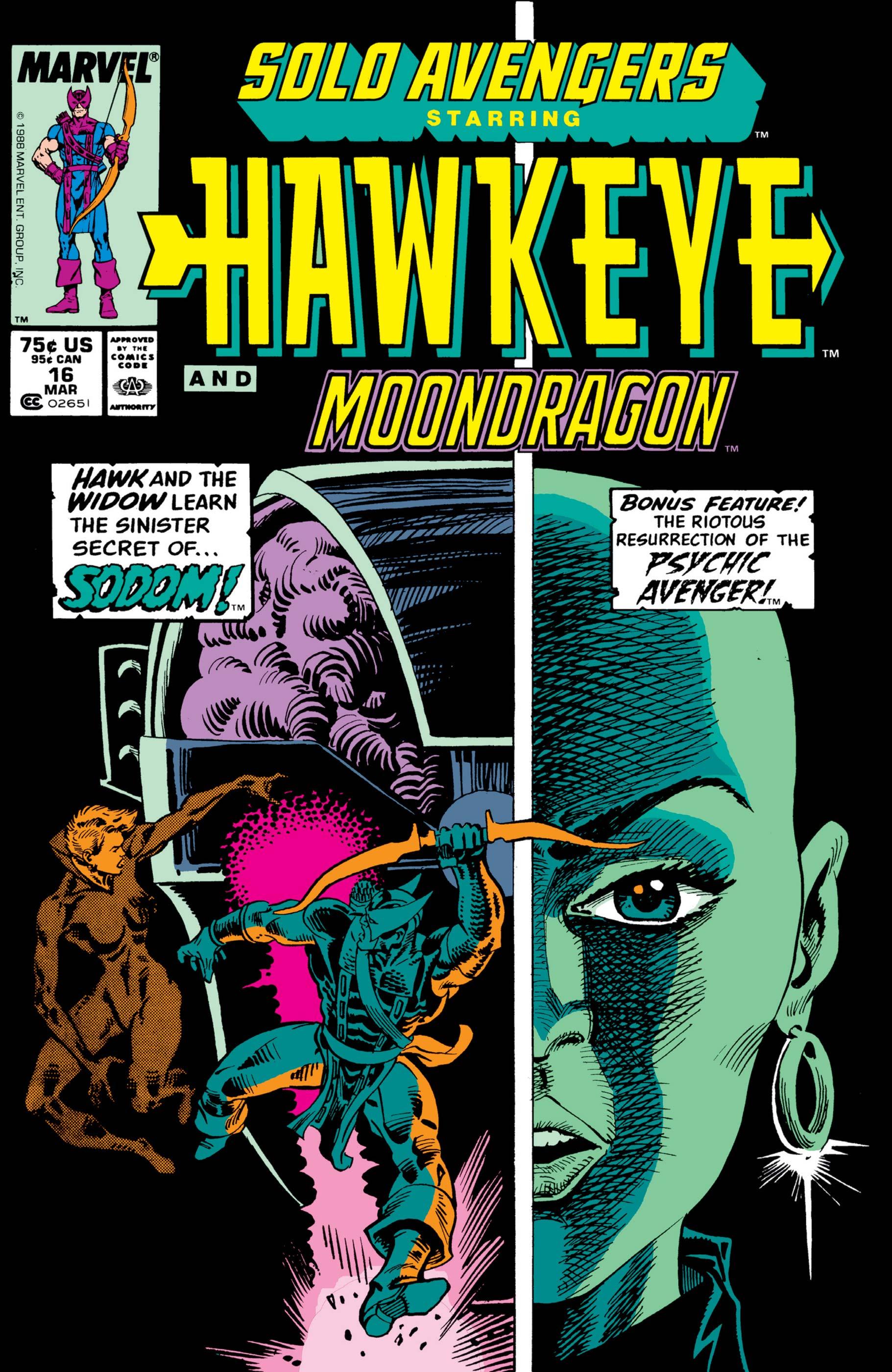Solo Avengers (1987) #16