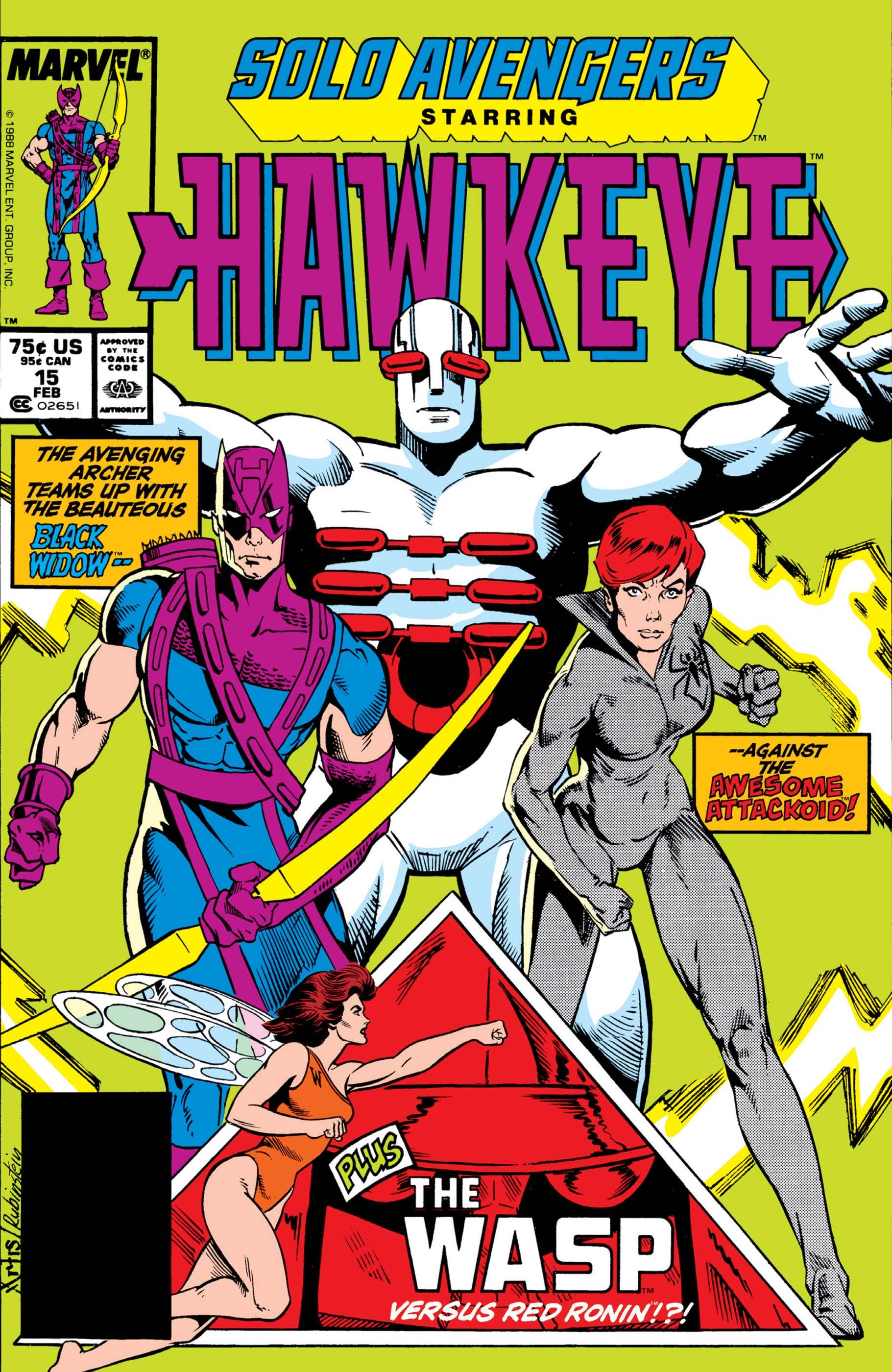 Solo Avengers (1987) #15