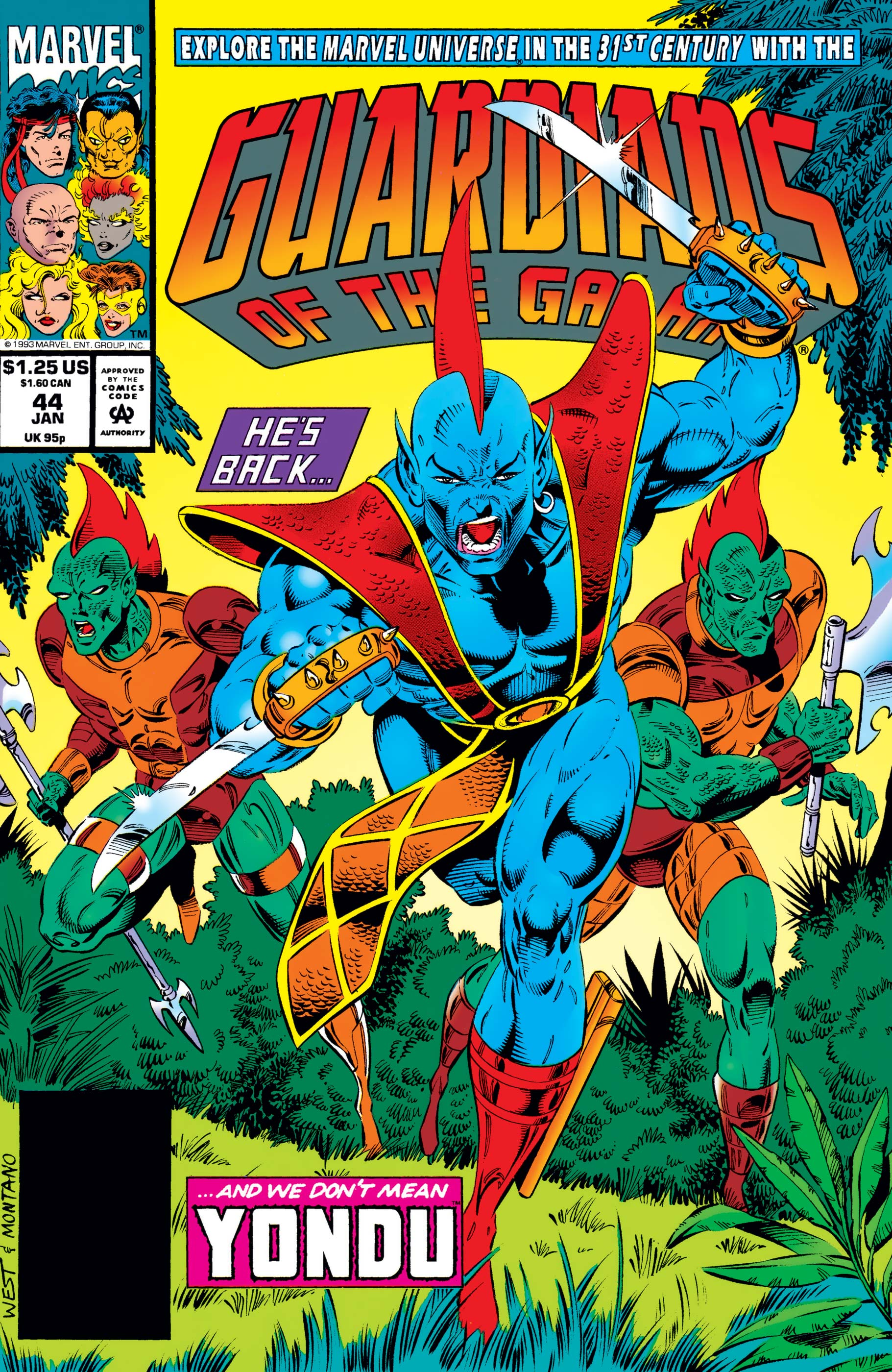 Guardians of the Galaxy (1990) #44