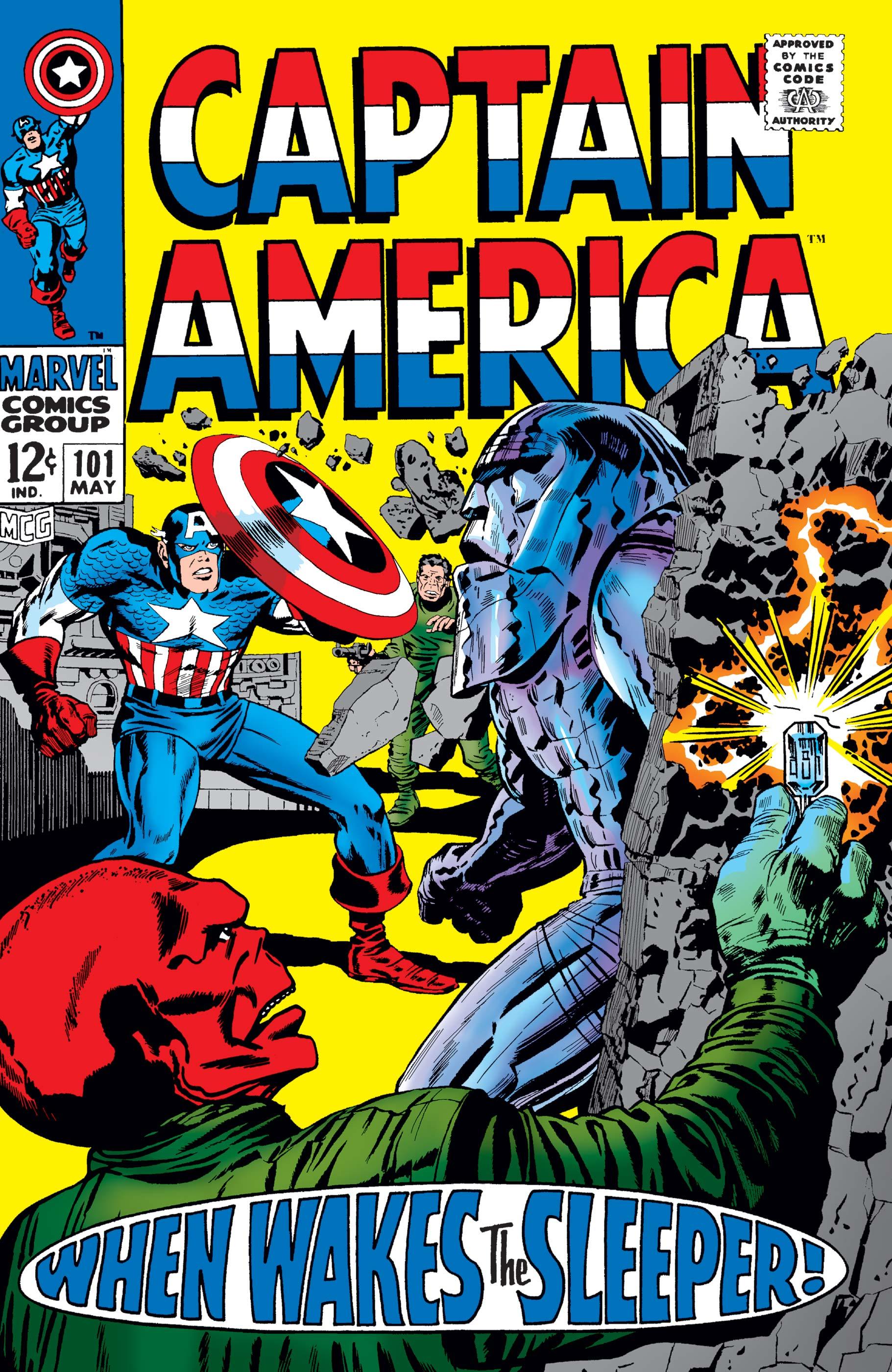 Captain America (1968) #101