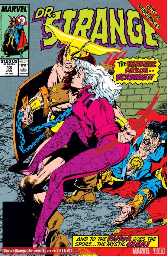 Doctor Strange, Sorcerer Supreme (1988) #13