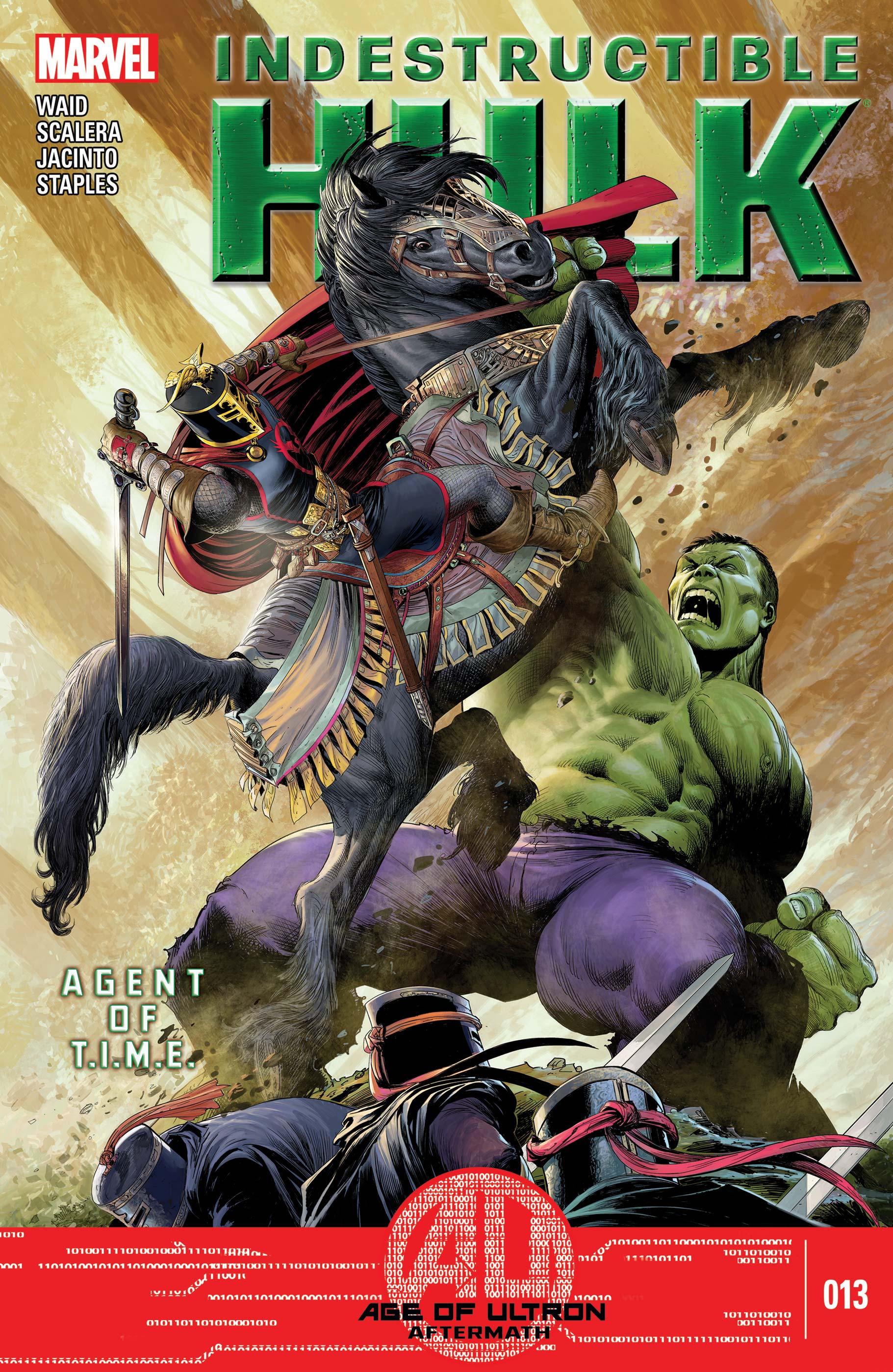 Indestructible Hulk (2012) #13