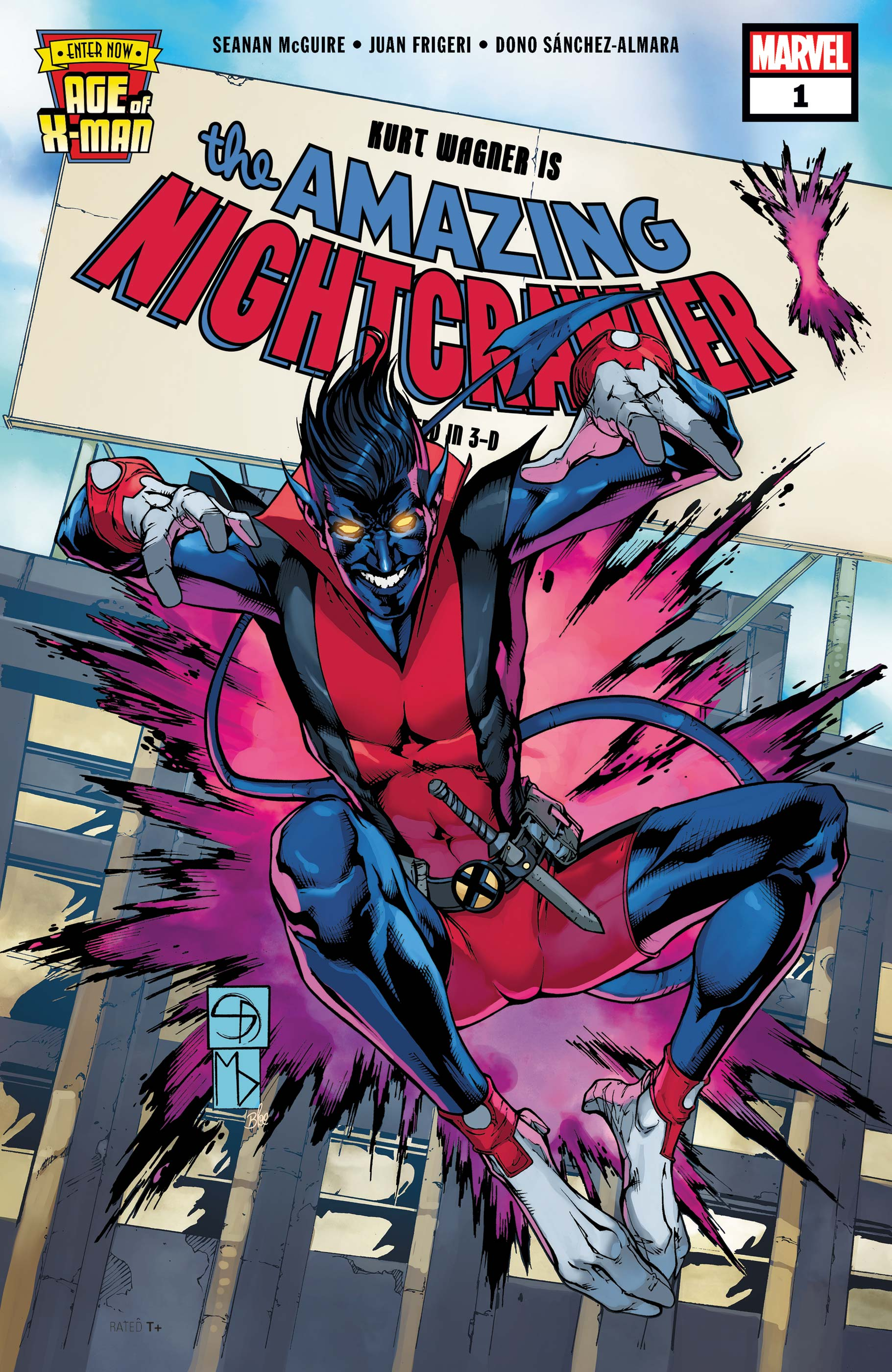 Age of X-Man: The Amazing Nightcrawler (2019) #1