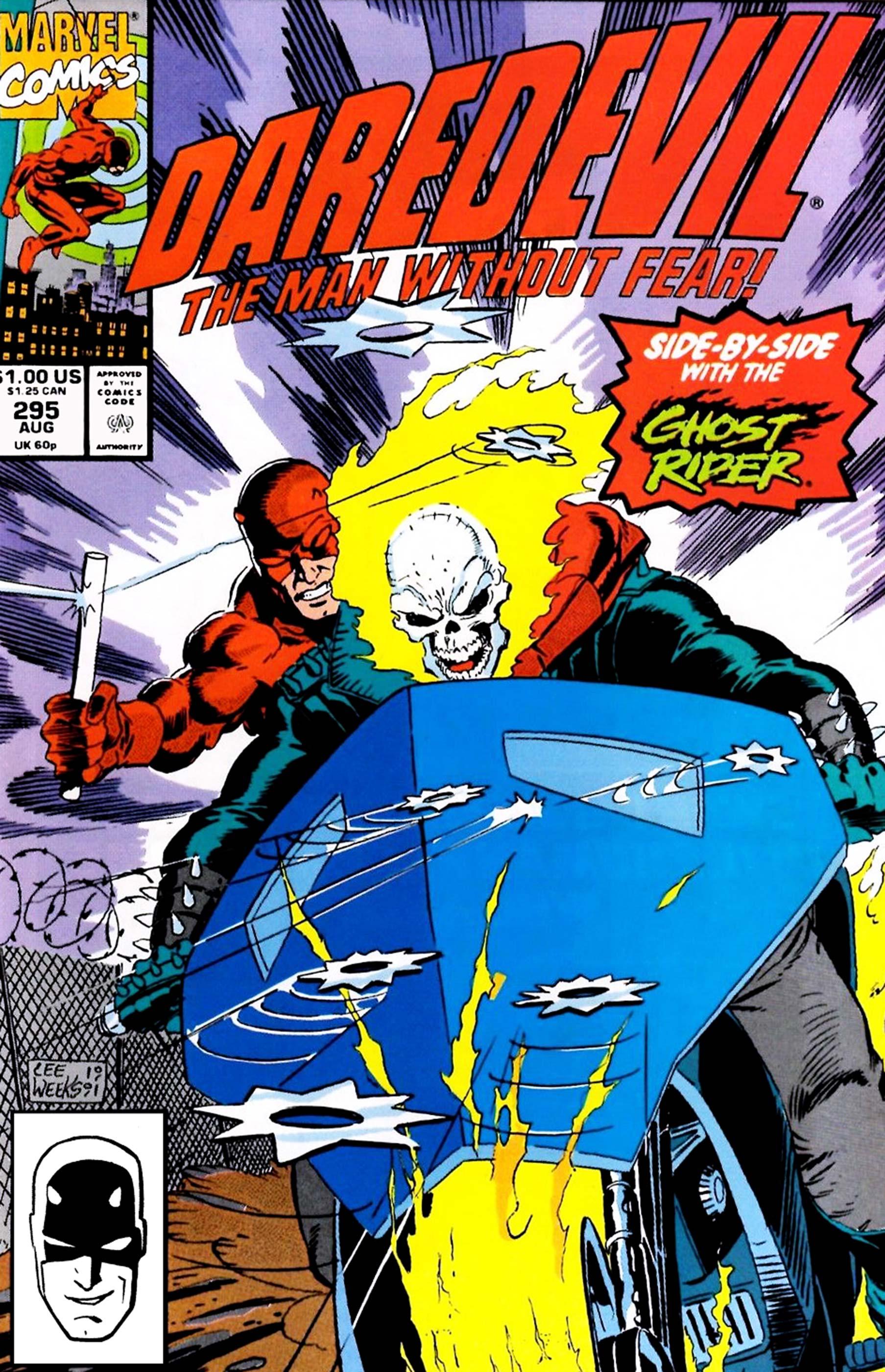 Daredevil #294 /& #295, Ghost Rider! 1991, Marvel