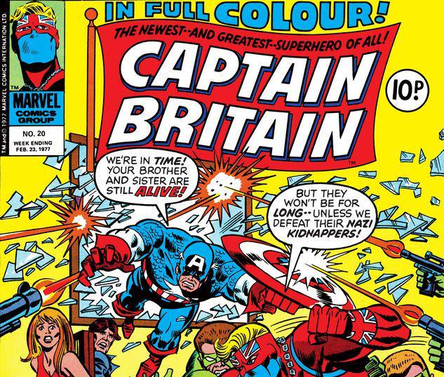 Captain Britain #20
