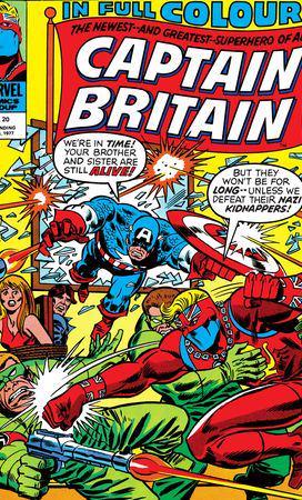 Captain Britain (1976) #20