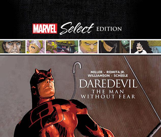 DAREDEVIL: THE MAN WITHOUT FEAR MARVEL SELECT HC #1