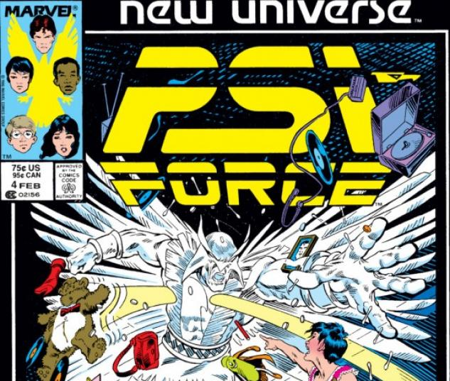 Psi-Force #4
