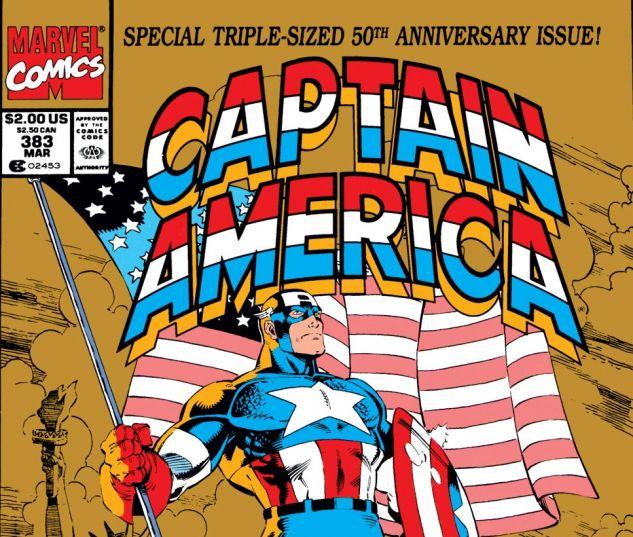 Captain America (1968) #383 Cover