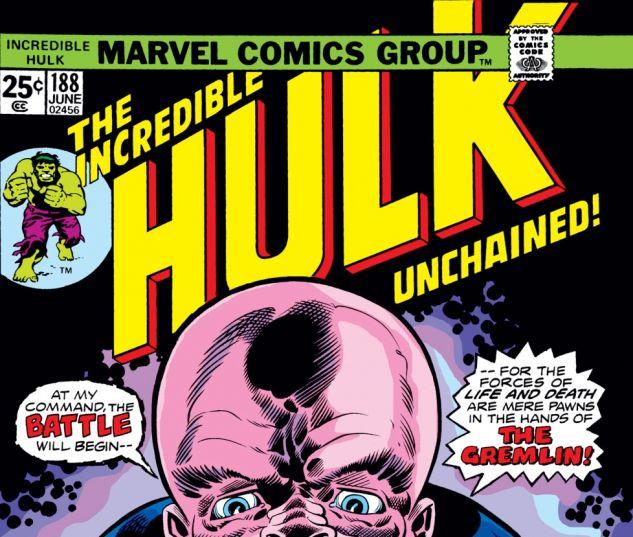 Incredible Hulk (1962) #188 Cover