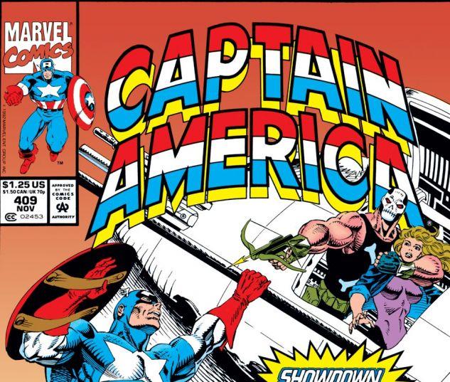 Captain America (1968) #409 Cover
