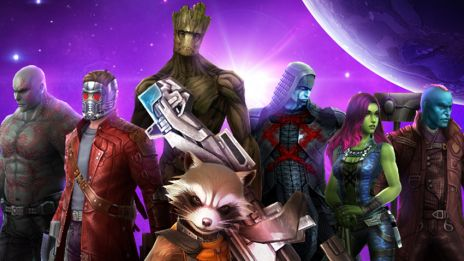 Guardians of the Galaxy in Marvel Future Fight
