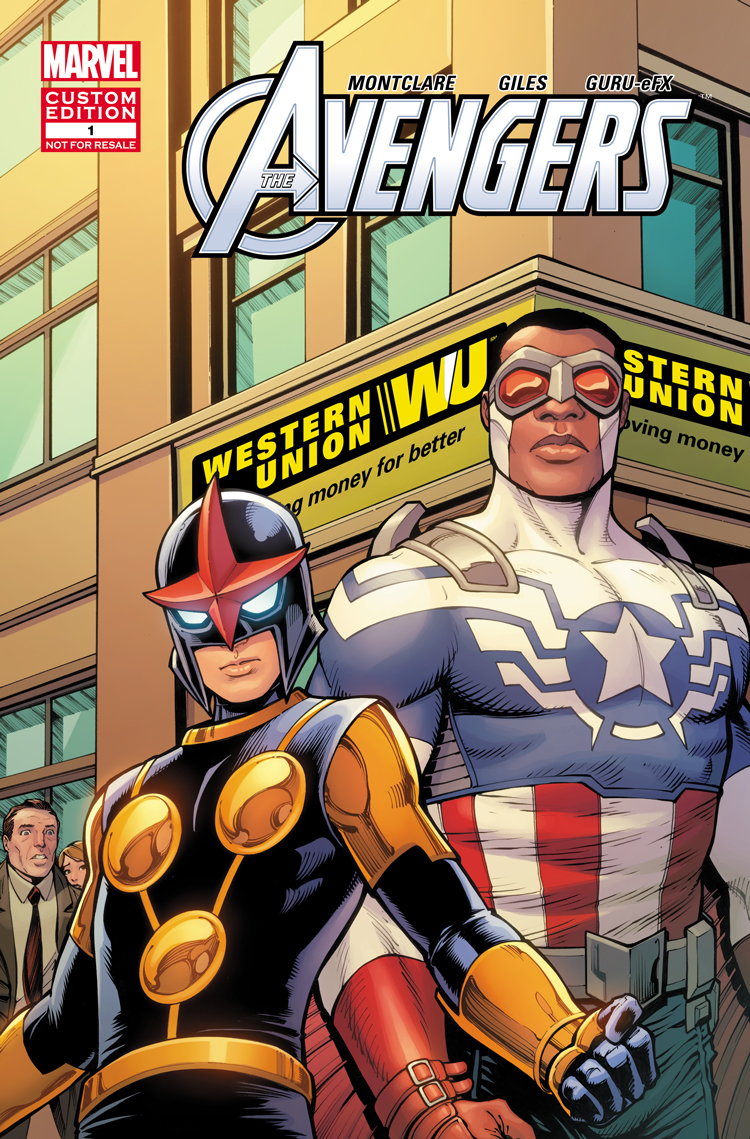 Avengers Presented by Western Union (2015) #1