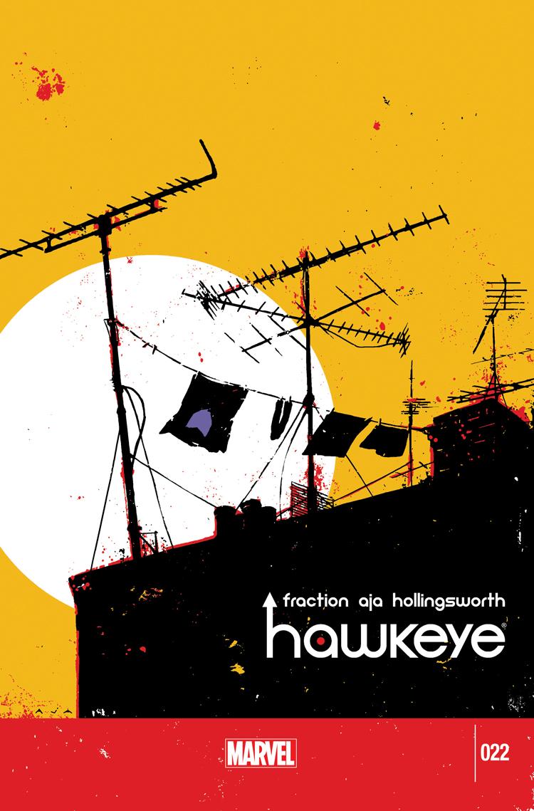 Hawkeye (2012) #22