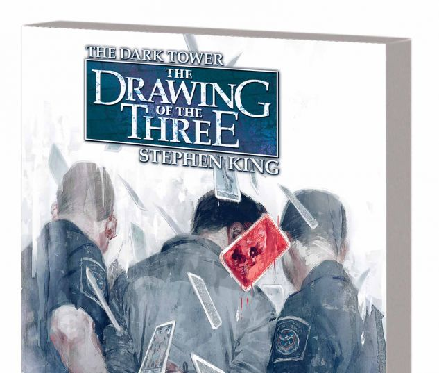DARK TOWER: THE DRAWING OF THE THREE - HOUSE OF CARDS TPB