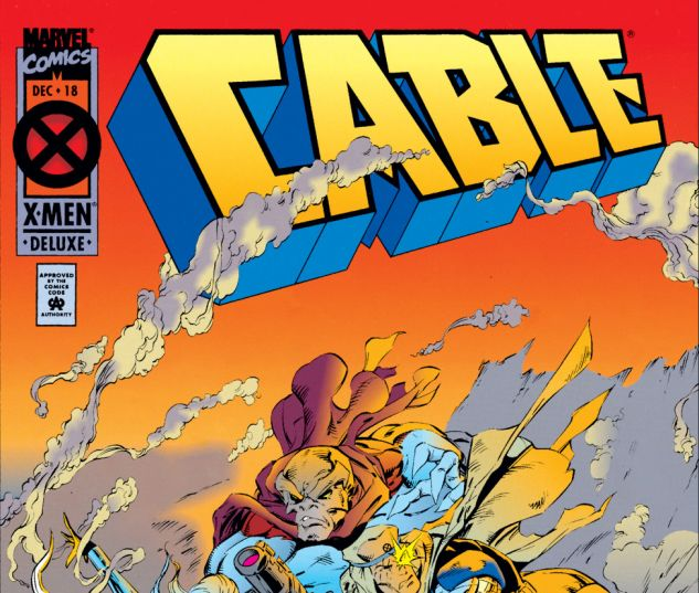 CABLE (1993) #18 Cover