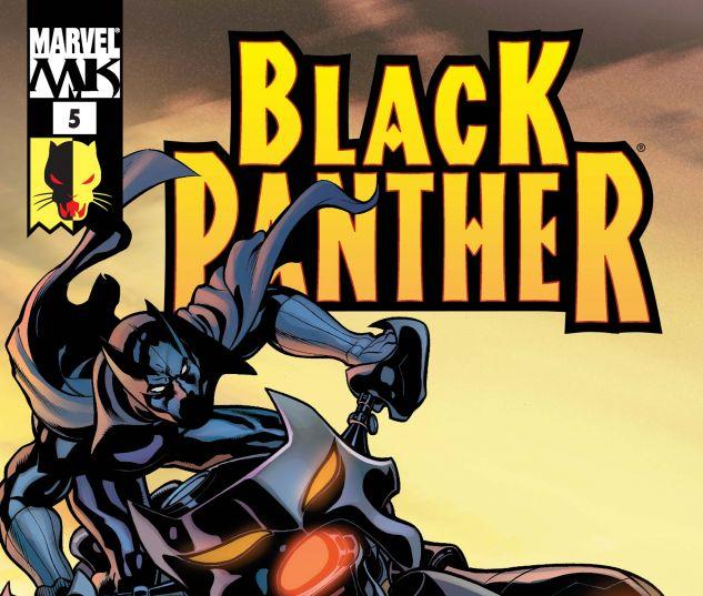 Black Panther (2005) #5