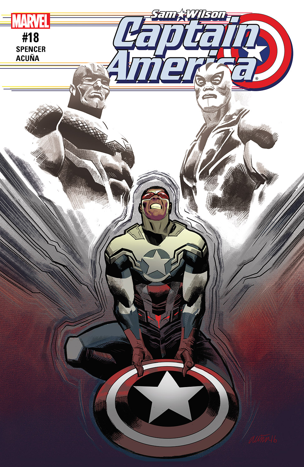 Captain America: Sam Wilson (2015) #18