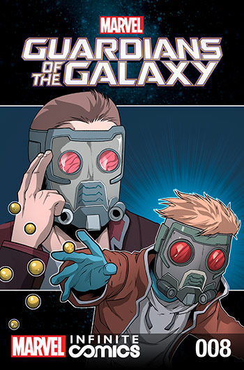GUARDIANS OF THE GALAXY: AWESOME MIX INFINITE COMIC (2016) #8