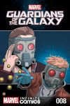 cover to GUARDIANS OF THE GALAXY: AWESOME MIX INFINITE COMIC (2016) #8