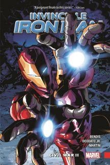Invincible Iron Man Vol. 3: Civil War II (Hardcover)