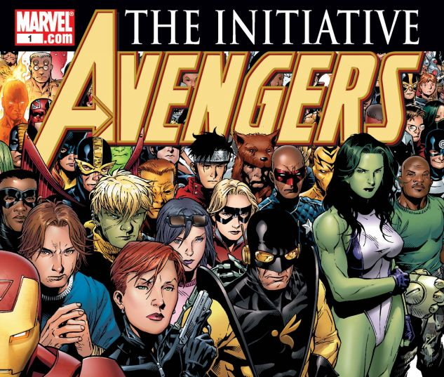 AVENGERS: THE INITIATIVE (2007) #1