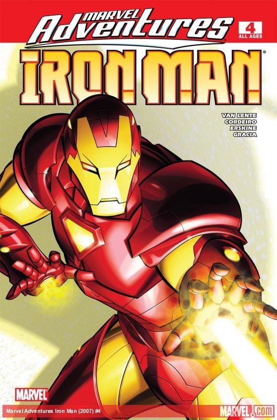 Marvel Adventures Iron Man (2007) #4