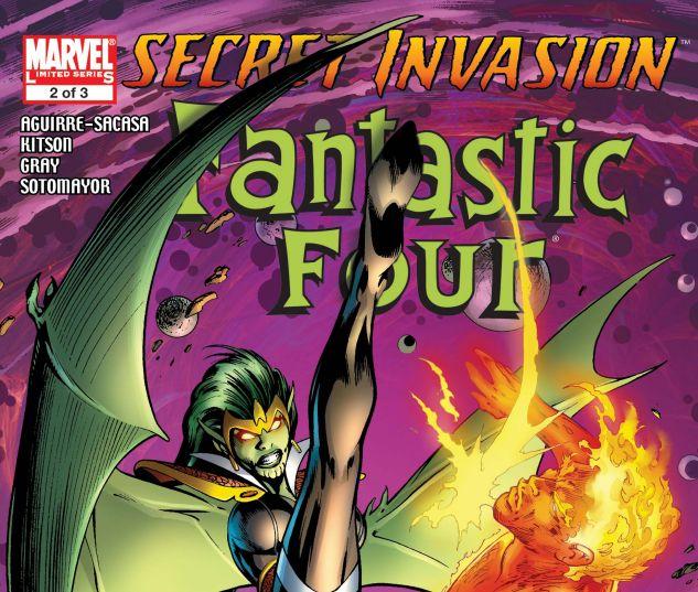 SECRET INVASION: FANTASTIC FOUR (2008) #2
