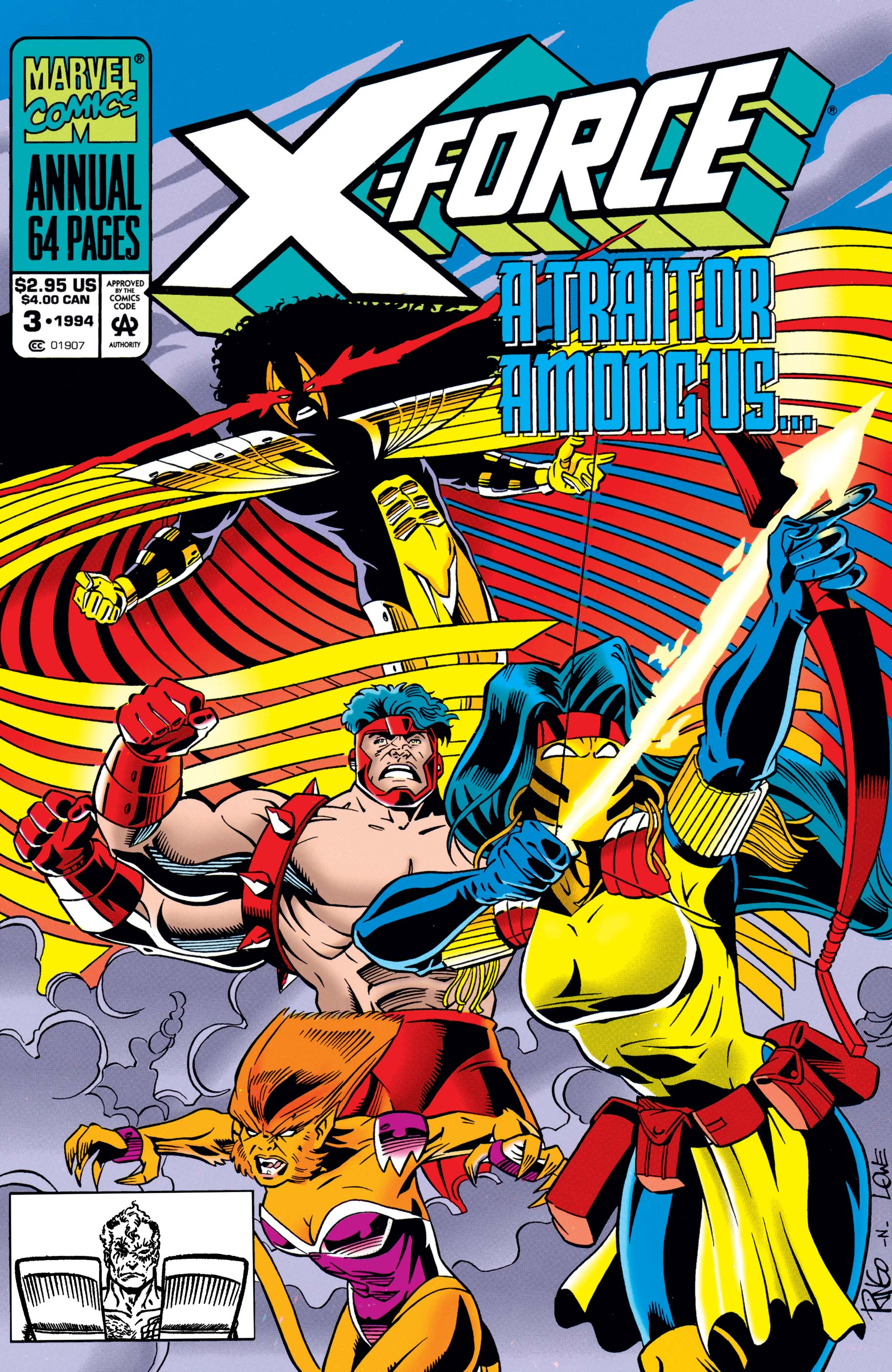 X-Force Annual (1992) #3