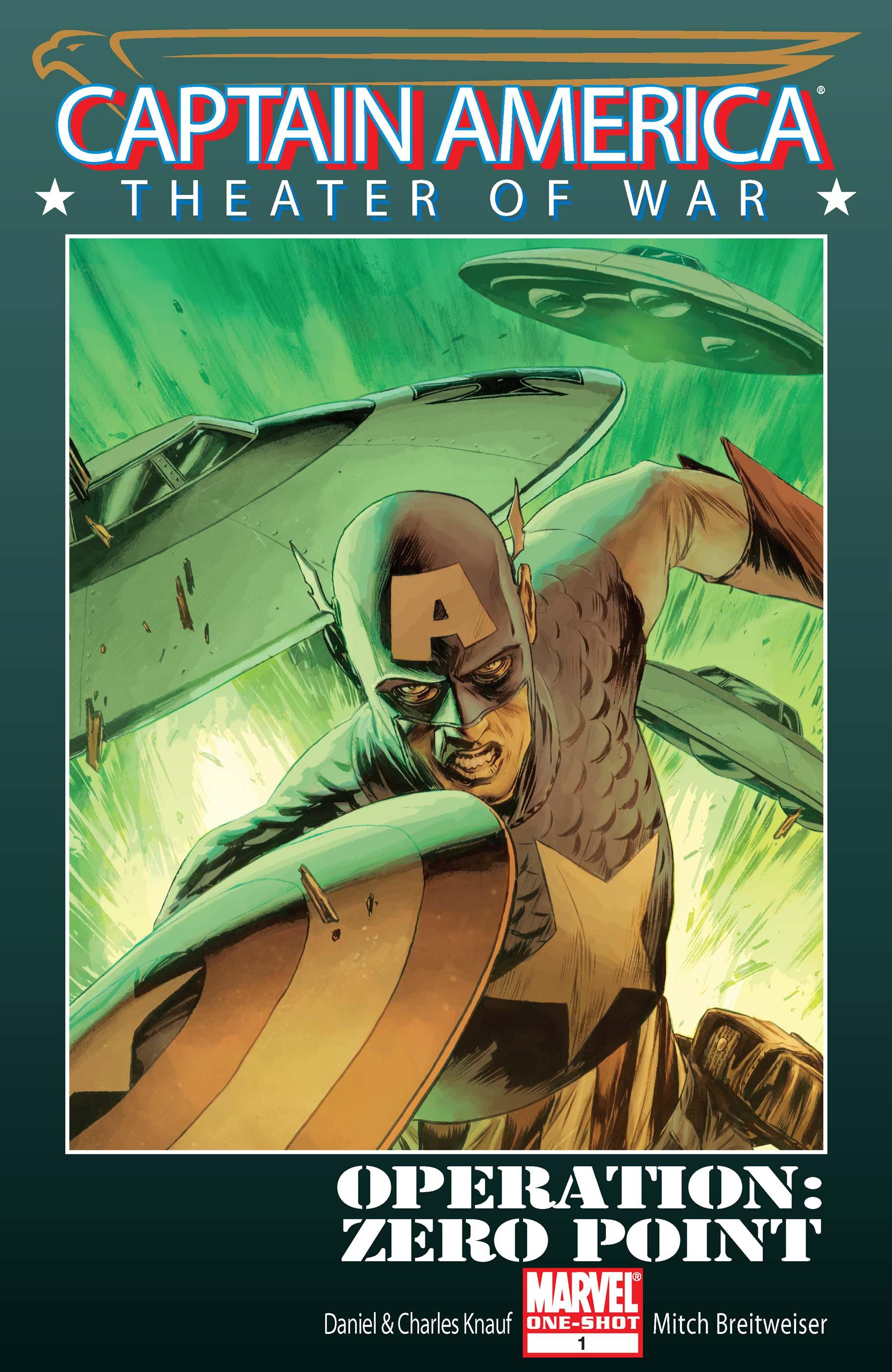 Captain America Theater of War: Operation Zero-Point (2008) #1