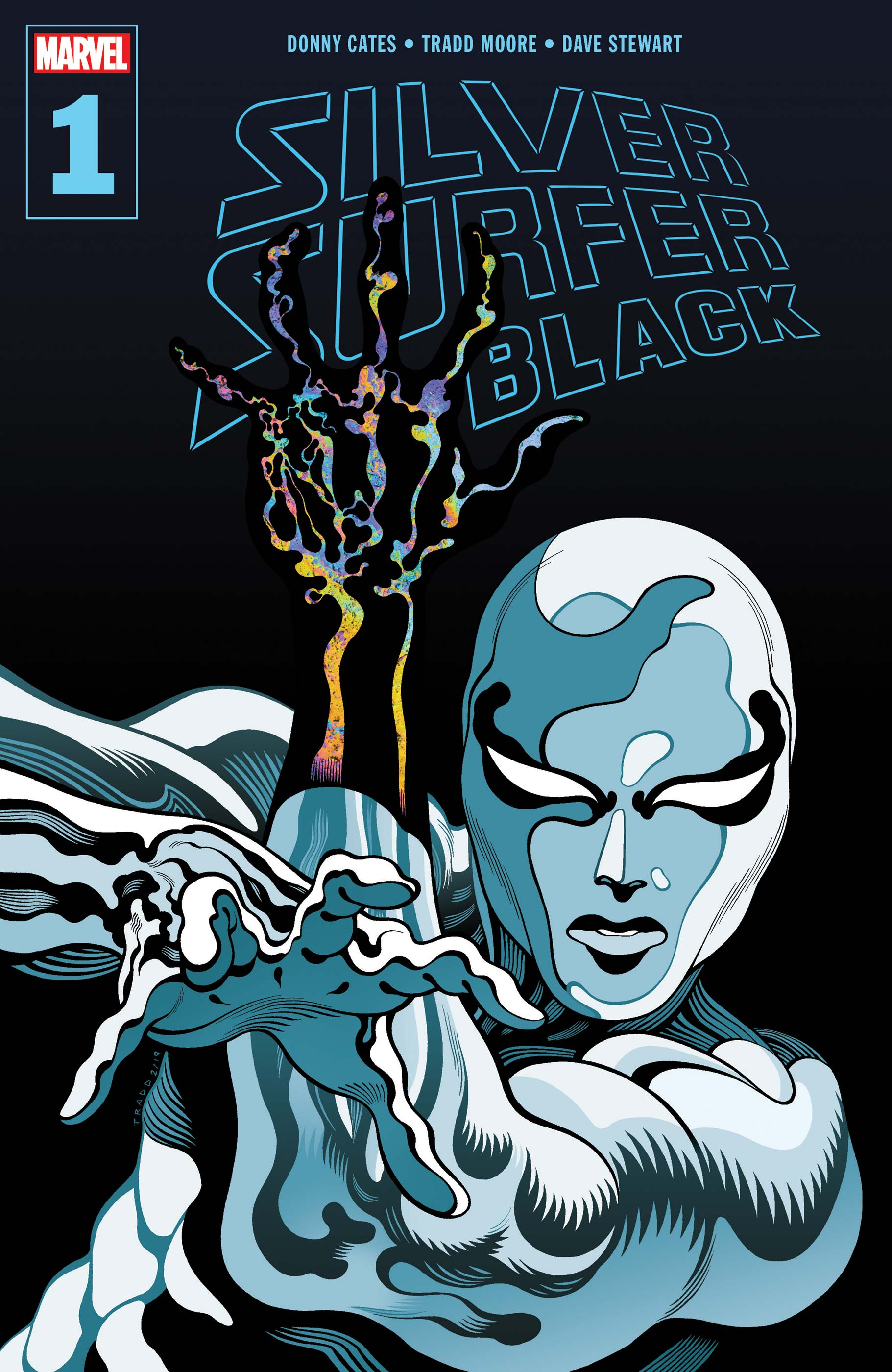 Silver Surfer: Black (2019) #1
