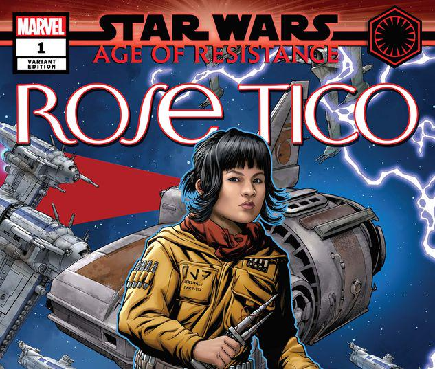 STAR WARS: AGE OF RESISTANCE - ROSE TICO 1 MCKONE PUZZLE PIECE VARIANT #1