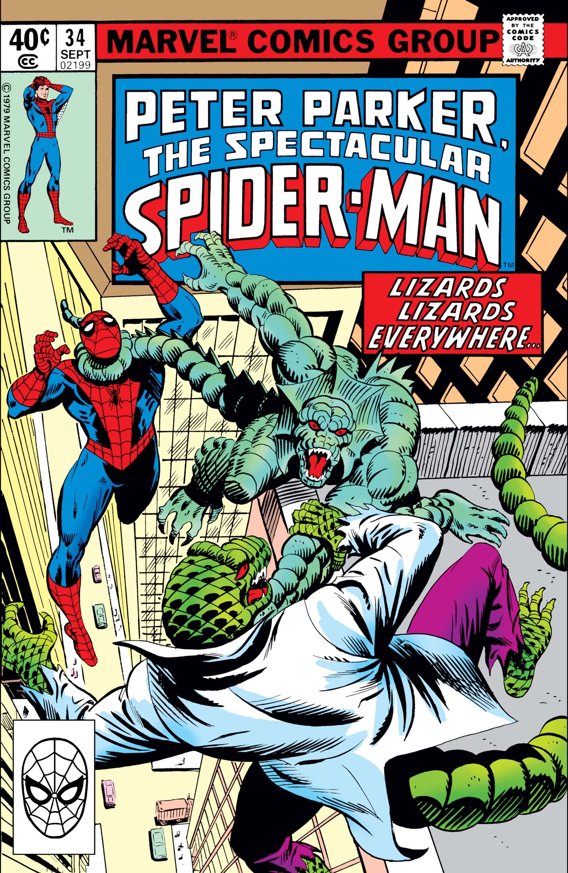 Peter Parker, the Spectacular Spider-Man (1976) #34
