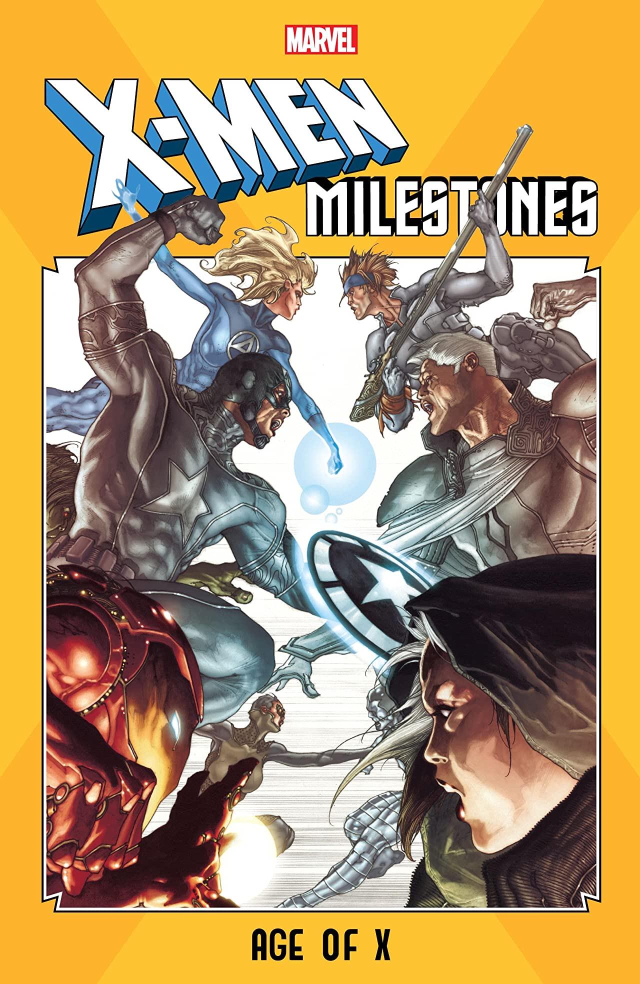 X-Men Milestones: Age Of X (Trade Paperback)