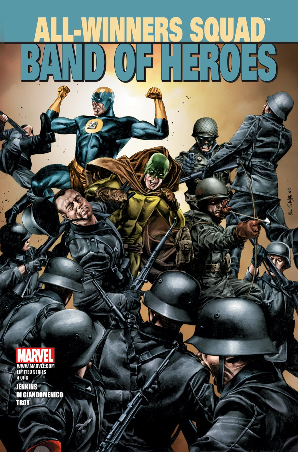 All-Winners Squad: Band of Heroes (2011) #4