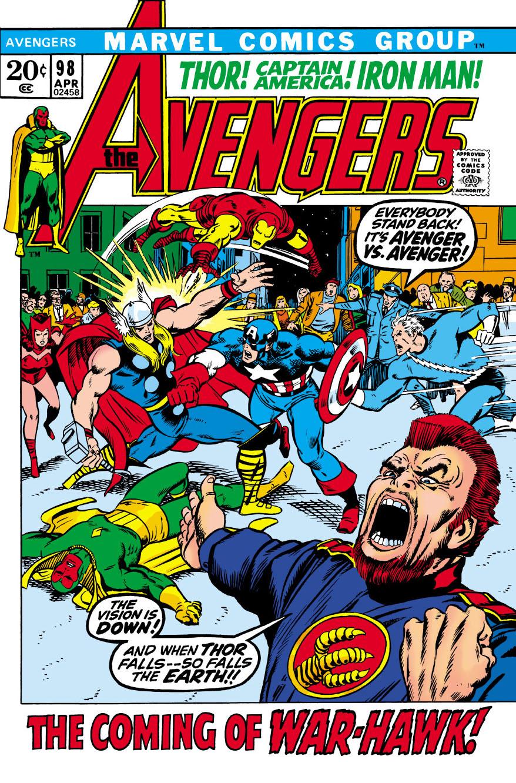 Avengers (1963) #98
