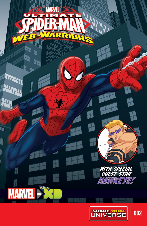 MARVEL UNIVERSE ULTIMATE SPIDER-MAN: WEB WARRIORS (2014) #2