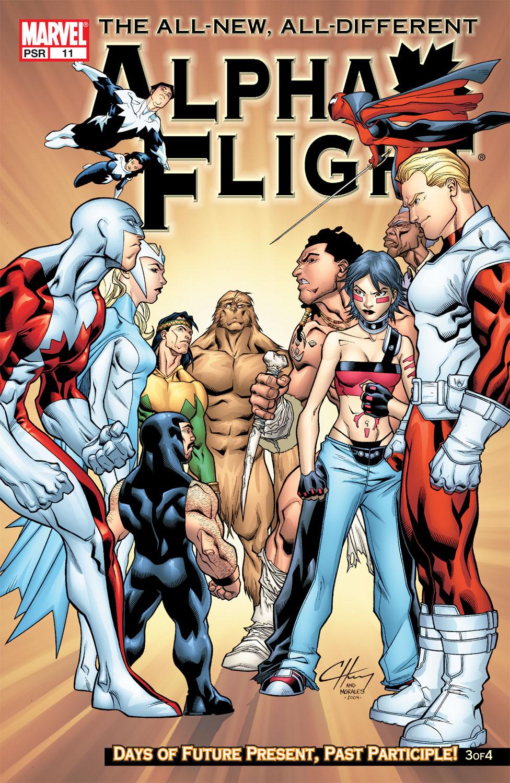 Alpha Flight (2004) #11