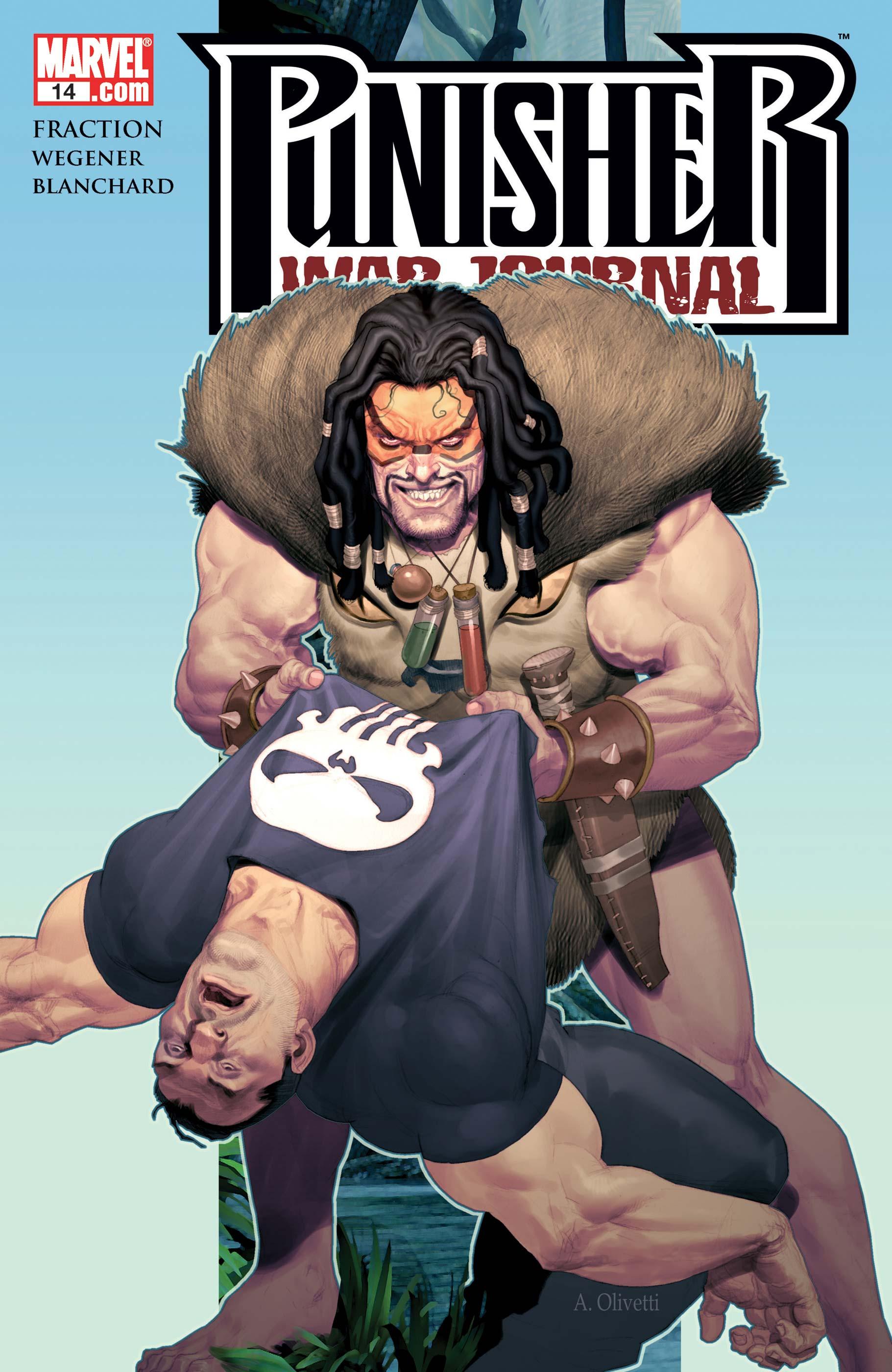 Punisher War Journal (2006) #14