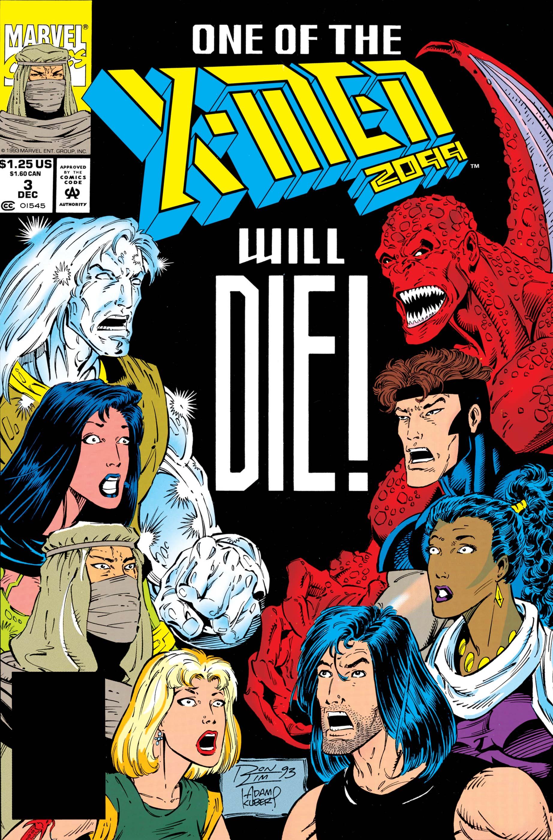 X-Men 2099 (1993) #3