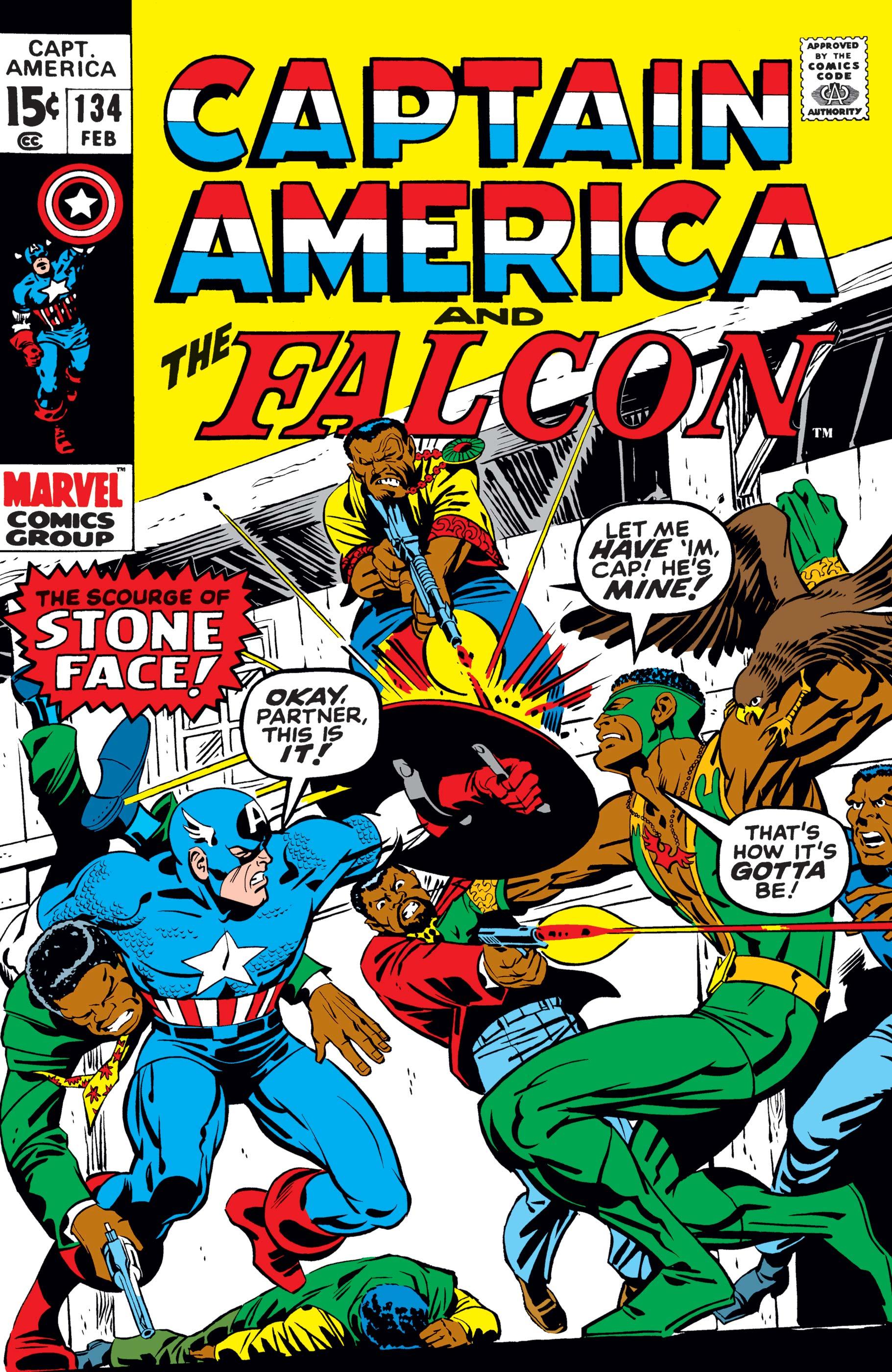 Captain America (1968) #134