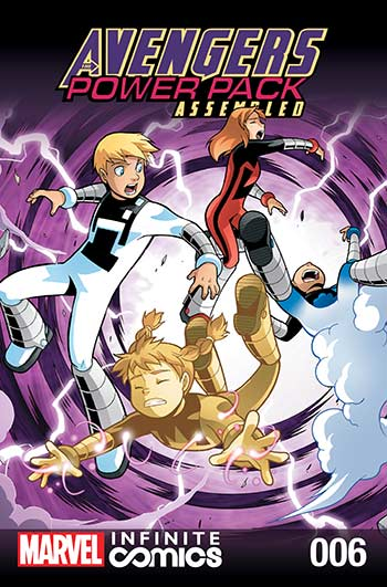 Avengers and Power Pack (2017) #6