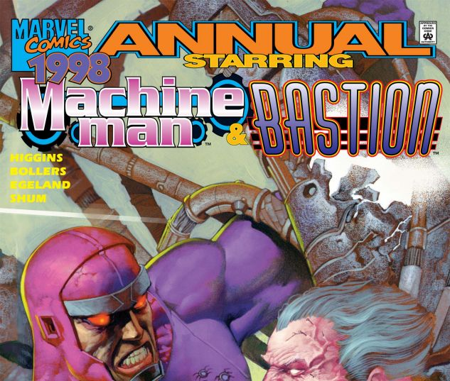 Cover for Machine Man Bastion Annual